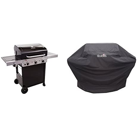 Char Broil Performance TRU Infrared 450 3 Burner Cart Gas Grill Cover