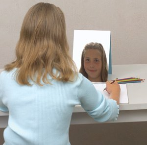 04 Double Sided Mirror (Speech) Grade Kindergarten to 1, 6.4