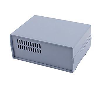 eDealMax 165mmx120mmx65mm impermeable de plástico de la unidad de bricolaje caja de conexiones Caja Azul-gris: Amazon.com: Industrial & Scientific