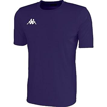 Kappa Rovigo SS Camiseta de equipación, Hombre, Azul Marino/Blanco, 2XL