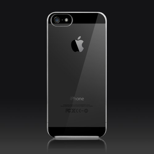 More-Thing Granite Ultra Slim Case for iPhone 5 (Transparent)