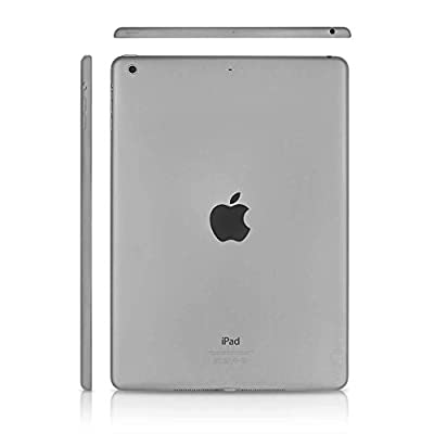 "Apple iPad Air 9.7"" WiFi 16GB Tablet - Space Gray - MD785LL/A (Refurbished)"