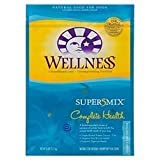 WELLNESS DOG FOOD DRY FSH & SWT PTO, 15 LB