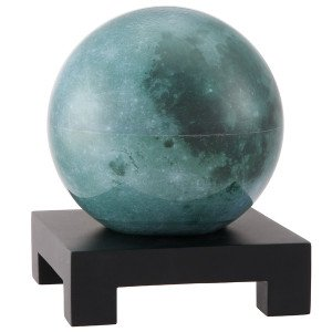 4.5'' Moon MOVA Globe with Square Base in Black