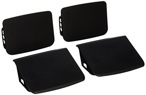 Jeep Wrangler TJ FRONT & REAR Bumper End Cap Set, Mopar