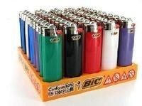 Bic Feuerzeug Maxi farbig sortiert Display mit 50 Stück