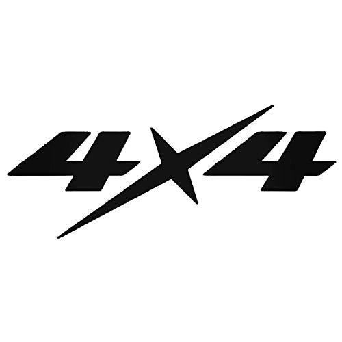 YWS Vinyl Stickers Decal - Isuzu D Max 4X4 - Sticker Laptop Car Truck Window Bumper Notebook Vinyl Decal