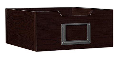 Niche HWTOTE1206TF Cubo Wood Storage Bin, 6'' by Niche