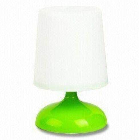Lámpara solar de interior mesa de escritorio con LED en forma de ...