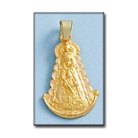 Médaille D'or 18kt Vierge Rocio Silueta