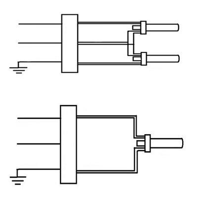 multi volt proline compact electronic fluorescent ballast 120 277 volt 2 x cfq18w g24q lamp multi volt proline compact electronic fluorescent ballast 120 277 volt 2