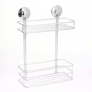 Instant do - Estantería para baño con ventosas (2 estantes)