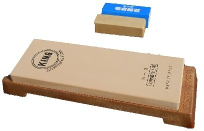 King Japanese Grit 6000 Sharpening Stone S-3 and King #8000