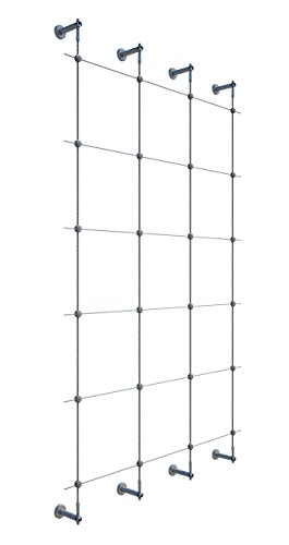 Jakob 96 in. Wire Rope Plant Trellis System (Trellis Suppliers)