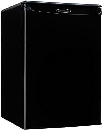 Danby DAR026A1BDD-3 Compact Refrigerator, 115 V, 15 A, 1 Door, 2.6 cu-ft, Black