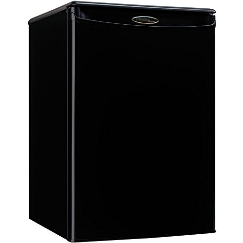 Danby DAR026A1BDD-3 Compact Refrigerator, 115 V, 15 A, 1 Door, 2.6 cu-ft, Black (Best Compact Fridge Reviews)