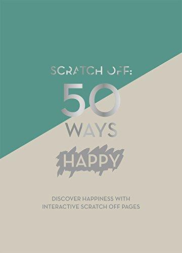 Books : Scratch Off: 50 Ways Happy