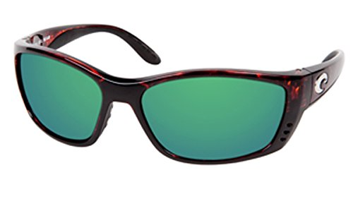 da3794527b Image Unavailable. Image not available for. Color  Costa Del Mar FISCH  Sunglasses FS 10 OGMGLP Tortoise Green Mirror 580 Glass