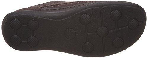 Clarks Nature Three   - Zapatos con cordones Derby para hombre Marrón (Mahogany Leather)