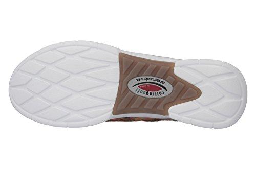 Beige 46 Dunkelbeige Cordones Soft 63 Mujer Zapatos 951 De Rolling Para naz6vx16q
