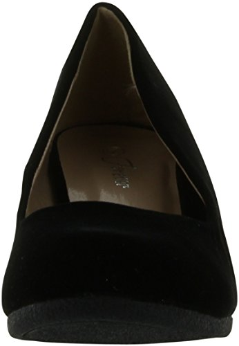 Forever Link Women's Patricia-02 Wedge Pumps Shoes,Black Suede,10 by Forever (Image #2)'