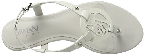Armani Jeans Dames 9252197p613 Tenen Trenner Witte (bianco)