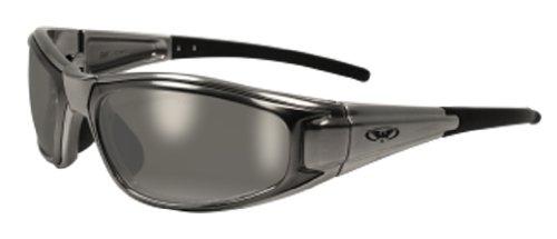 Global Vision Eyewear Zilla Safety Glasses, Flash Mirror, Flash Mirror
