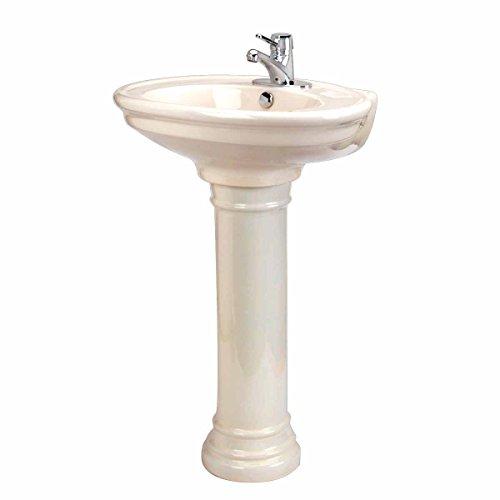 Doric Bath (Bathroom Pedestal Sink Bone China Doric 26