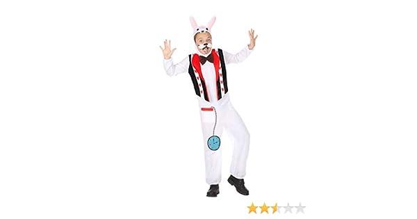 Atosa-56868 Disfraz Conejo, Color Blanco, 7 a 9 años (56868): Amazon.es: Juguetes y juegos