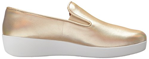 Iridescent Donna Superskate Fitflop Gold Gold Mocassini qxpdXwOd