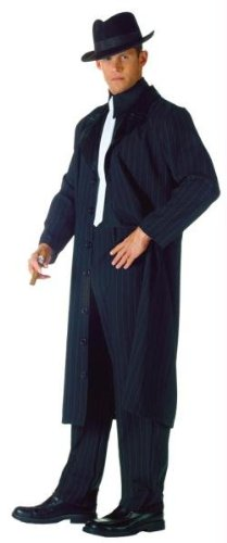 [Underwraps Men's The Don, Black/White, One Size] (Mens Halloween Costume Ideas Last Minutes)