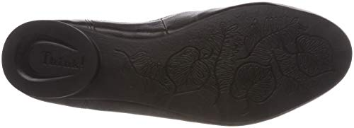 Womenâ 00 383275 Mocassini Guad 383275 Think Loafers Guad Pensare Women's S Nero 00 Schwarz Schwarz € Black ™ R8RnPa