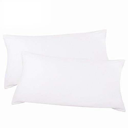 "Adoric Life 100% Cotton 20"" x 40"" King Size Pillow Cases Set"