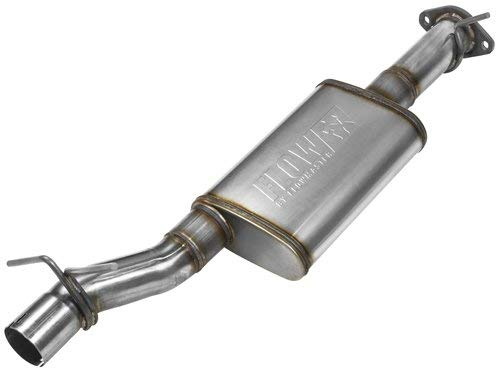 Flowmaster 717847 409S-FlowFX-Moderate-Dodge Ram 1500 Exhaust Assembly Direct-fit Muffler 409S-FlowFX-Moderate