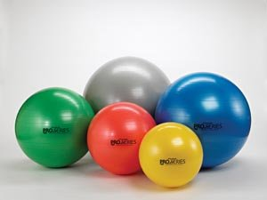 Thera-Band Exercise Balls - Pro Series SCP-55cm-Red by TheraBand (Image #1)