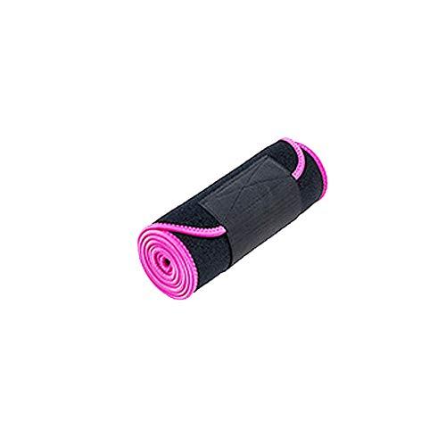 CapsA Waist Trimmer Belt Sports Slimmer Kit Stomach Fat Burner Weight Loss Wrap Best Abdominal Trainer Research Sweet Sweat Premium Waist Trimmer for Men Women Low Back Lumbar Support (Hot ()