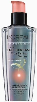 L'Oreal Smooth Intense Frizz Taming Serum 3.4 OZ