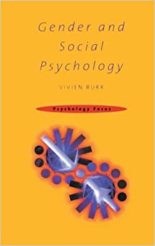 Book Gender and Social Psychology (Psychology Focus)