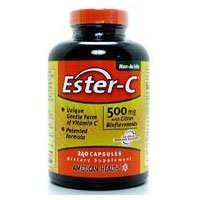 Ester-C 500 with Cit Bio Veg, 240 cap ( Multi-Pack) by AMERICAN HEALTH by American Health