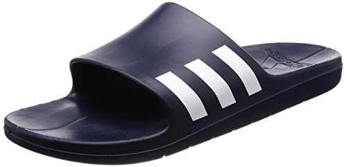 Adidas Mens Aqualette, Navy / White, 8,5 M Us