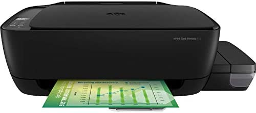 HP Ink Tank 415 Wireless All-In-One Printer, Black - Z4B53A: Amazon