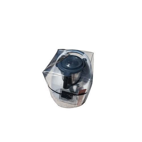 Ma Belle Housse - Housse De Protection Pour Thermomix Tm5/Tm31 Transparente Sans Varoma Biais Noir