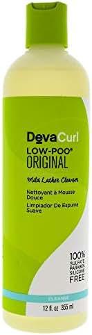 Shampoo & Conditioner: Devacurl Low-Poo Delight