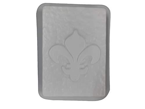 Fleur De Lis Bench Leg Concrete or Plaster Mold 9007