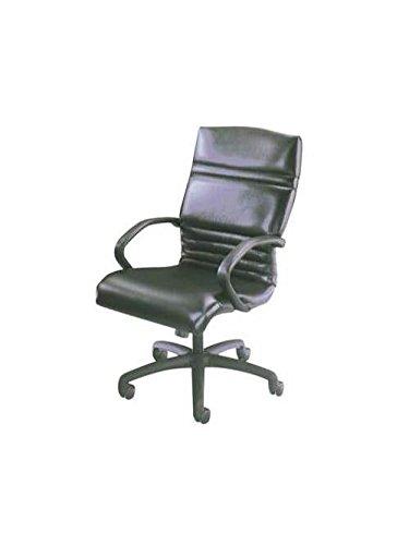 - Executive Swivel Chair w Arms (AL20-Burgundy Leather)