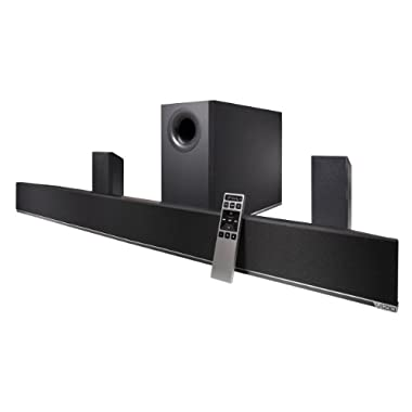 VIZIO S4251w-B4 42-Inch 5.1 Channel Sound Bar with Wireless Subwoofer & Satellite Speakers (2013 Model)