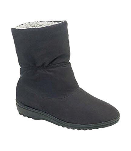 Blizzard Ladies Storm Waterproof Boots Black r8T7JnqY