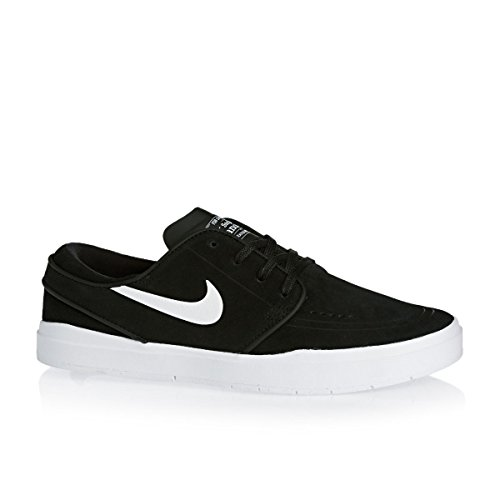 Nike Men's Stefan Janoski Hyperfeel Skateboarding Shoe Black/White 10.5 D(M) US