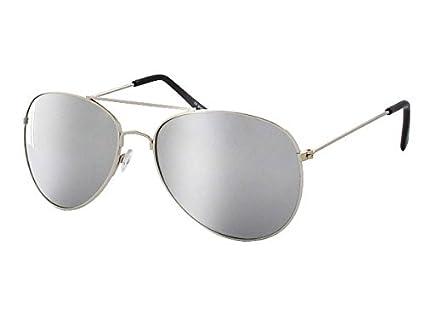 lunette mirroir, police, aviateur , retro lunette de soleil V-705