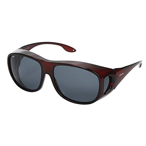 Yodo Fit Over Glasses Sunglasses with Polarized Lenses for Men and ()